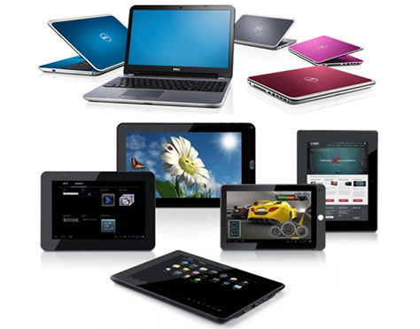 Laptops Tablets